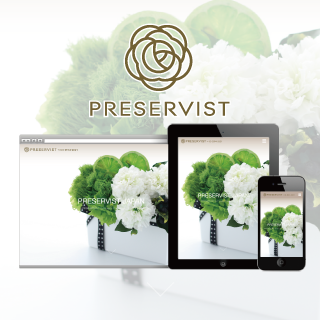 PRESERVIST [Homepage Design]